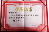 我公司总经理荣获2015年度优秀政协委员